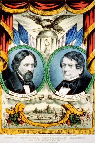 1856 Campaign Poster