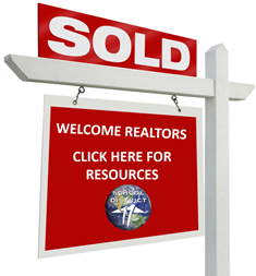 Sold Sign that says click for Realtor Resources