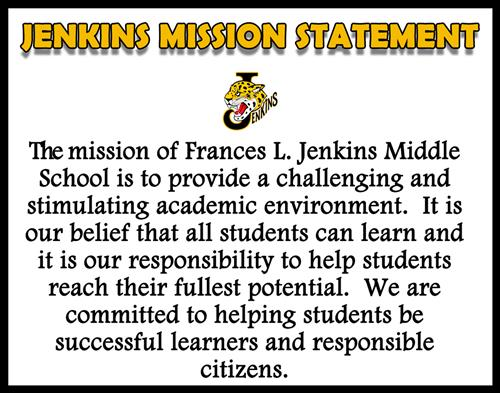 Mission And Vision Statement  Jenkins Mission Statement