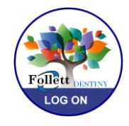 follett destiny library login