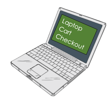 laptop cart checkout image