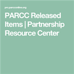 Released PARCC items