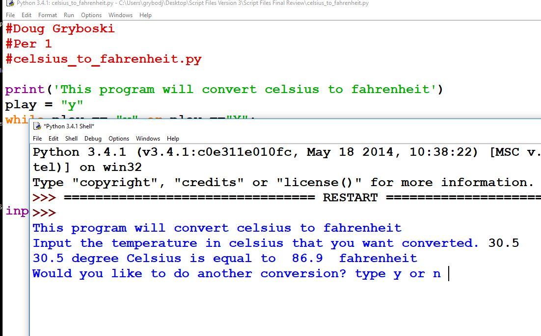Python Restart Script Windows