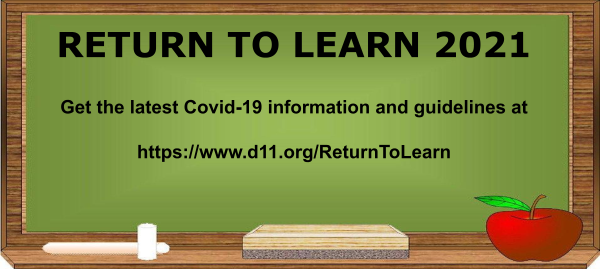 Get the Latest Return to Learn Information