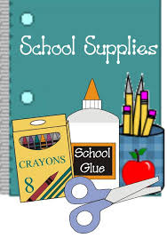 Stratton School Supply List 2018-19