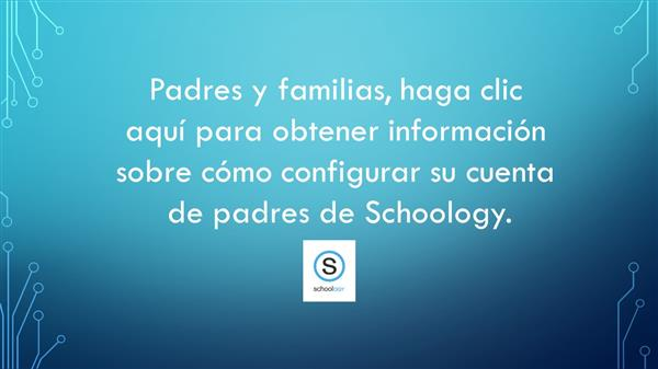 schoology button - spanish