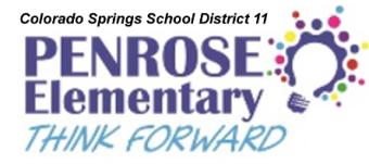If Madison Were Colorado Springs Wed Be >> Penrose Elementary School Homepage
